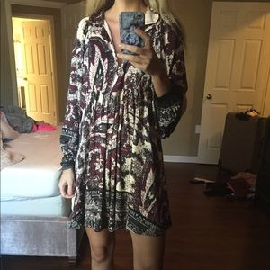 Excellent Condition FREE People Tunic Dress Small